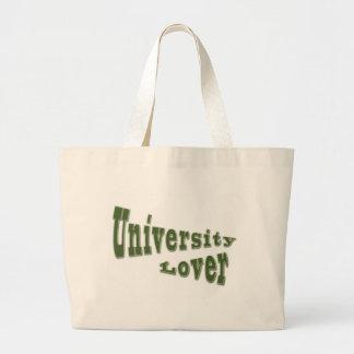 university lover tote bag