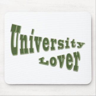 university lover mouse pad