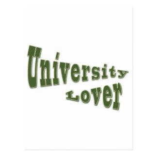 university lover postcards