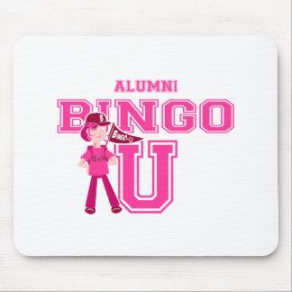 University Of Bingo Alumni mouse pad