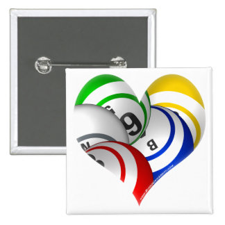 University of Bingo bingo heart button