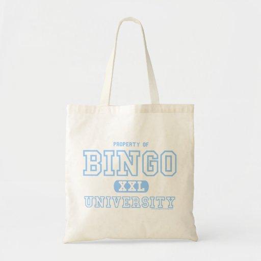 University Of Bingo budget tote bag