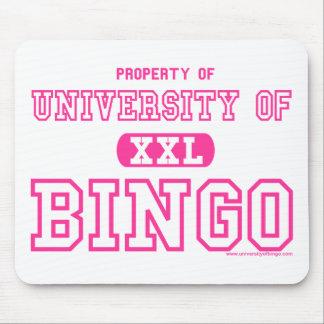University Of Bingo Pink mouse pad