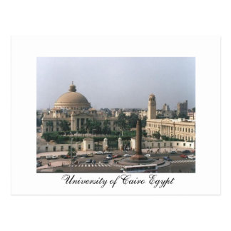 University of Cairo Egypt - Postcard