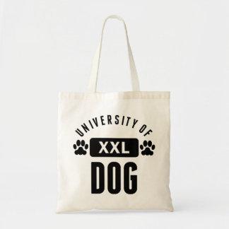University Of Dog Canvas Bag