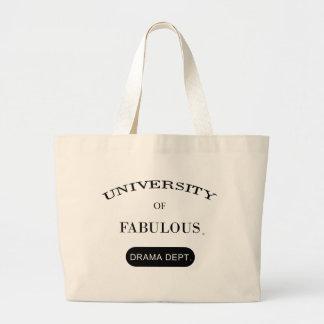 University of Fabulous (Drama Dept.) Canvas Bag