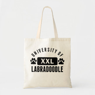 University Of Labradoodle Canvas Bags