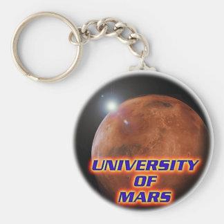 University of Mars Keychain