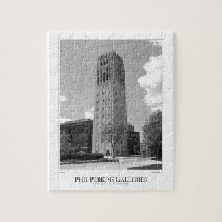 University of Michigan Clock Tower Jigsaw Puzzle