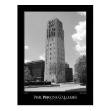 University of Michigan Clock Tower Post Card
