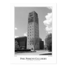 University of Michigan Clock Tower Postcard