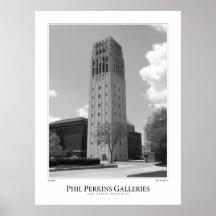 University of Michigan Clock Tower Posters