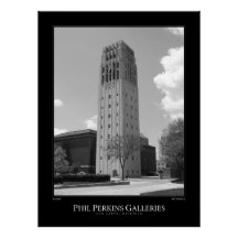 University of Michigan Clock Tower Print