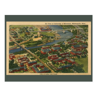 University of Minnesota, Minneapolis Postcard