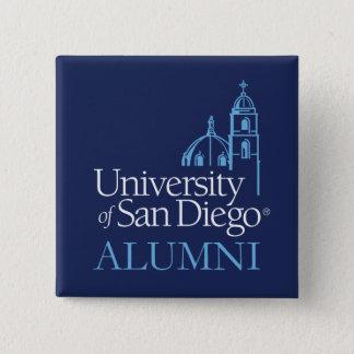 University of San Diego | Alumni 15 Cm Square Badge