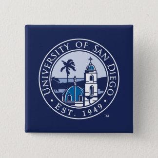 University of San Diego | Est. 1949 15 Cm Square Badge