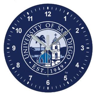 University of San Diego | Est. 1949 Large Clock