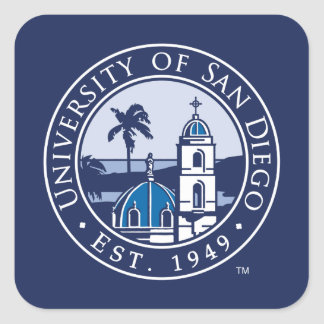 University of San Diego | Est. 1949 Square Sticker