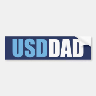 University of San Diego | USD Dad Bumper Sticker