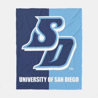 University of San Diego Vintage Fleece Blanket