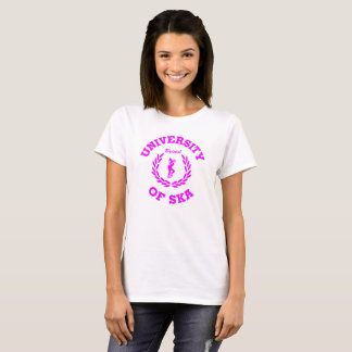 University of Ska Bristol  ladies pink T-Shirt