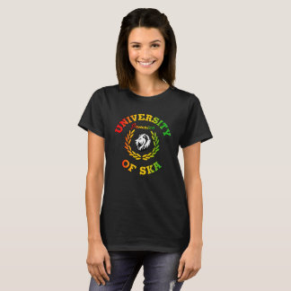 University of Ska Jamaica ladies black T-Shirt
