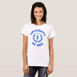 University of Ska London ladies blue T-Shirt
