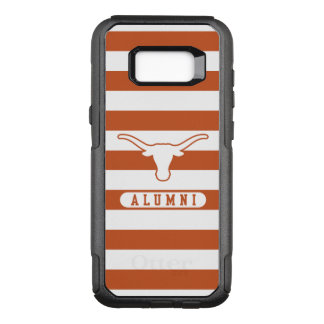 University of Texas | Alumni Striped Pattern OtterBox Commuter Samsung Galaxy S8+ Case