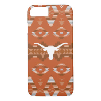 University of Texas   Native Tribal Pattern iPhone 8/7 Case