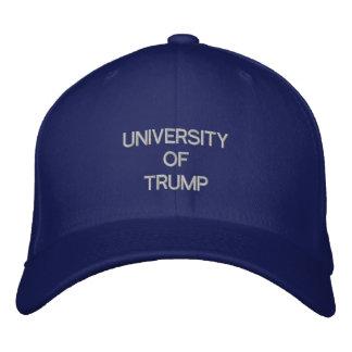 UNIVERSITY OF TRUMP - Faux Cap at eZaZZleMan.com Embroidered Hats