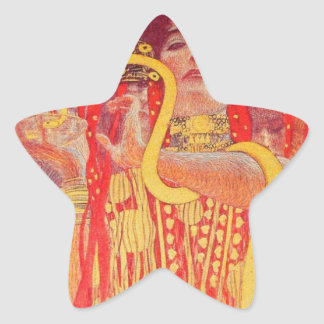 University of Vienna Ceiling Paintings (Medicine) Star Sticker