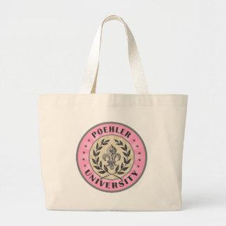 University Poehler Pink Canvas Bag
