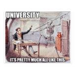 University Postcard