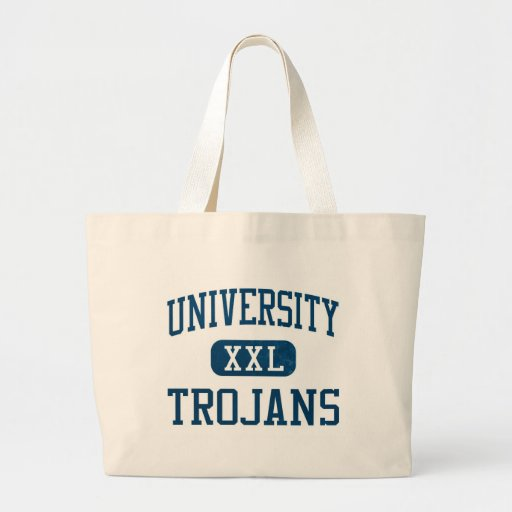 University Trojans Athletics Canvas Bag