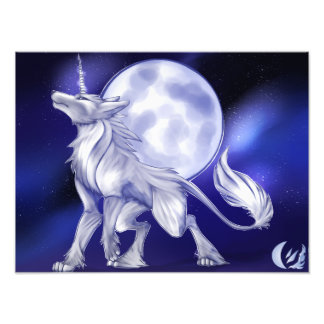 Uniwolf Print Photo