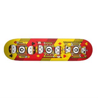 UNKL UniPoker deck 21.6 Cm Skateboard Deck