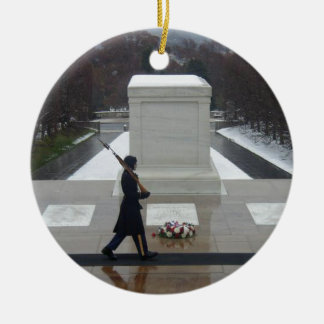 """Unknown Soldier"" Ceramic Ornament"