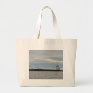 Unladen Container Ship Tote Bag