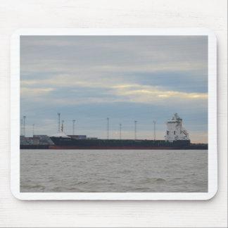 Unladen Container Ship Mousepad