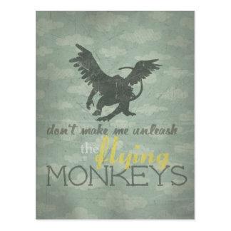 Unleash the Flying Monkeys Postcard