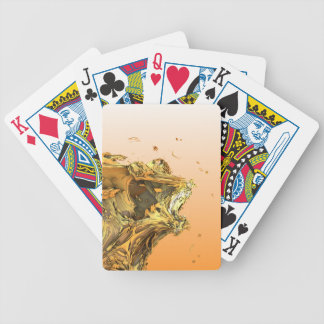 Unleash The Lion Bicycle Playing Cards