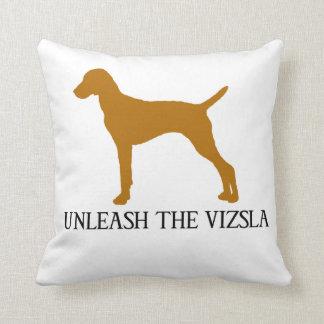 UNLEASH THE VIZSLA CUSHION