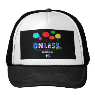 Unless Science March Earth Day 2017 T-Shirt Cap