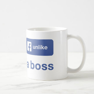 Unlike a boss coffee mug
