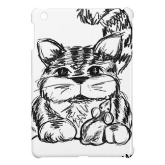 Unlikely Friends Cat and Mouse iPad Mini Cover