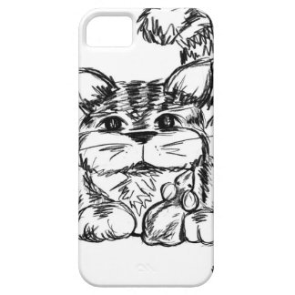 Unlikely Friends Cat and Mouse iPhone 5 Cover
