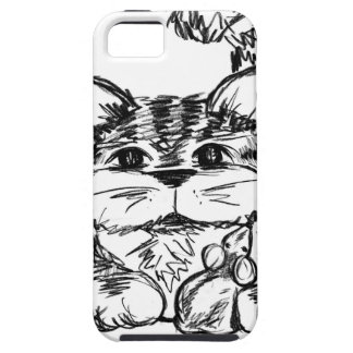 Unlikely Friends Cat and Mouse iPhone 5 Covers