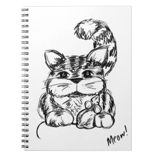 Unlikely Friends Cat and Mouse Notebooks