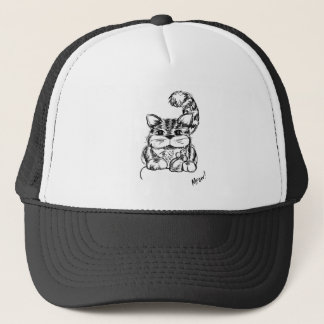Unlikely Friends Cat and Mouse Trucker Hat