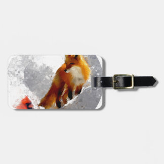 Unlikely friends luggage tag
